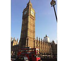 London Big Ben  Photographic Print