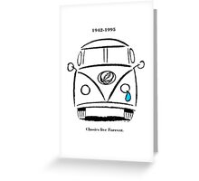 Classics Live Forever Stealie Greeting Card
