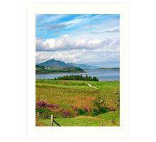 Isle of Sky Art Print