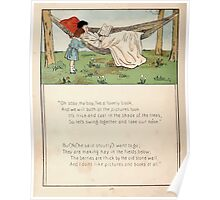 The Glad Year Round for Boys and Girls by Almira George Plympton and Kate Greenaway 1882 0042 Oh Stay Poster