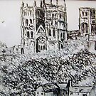 Durham Cathedral by GEORGE SANDERSON