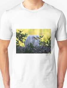 Pair of Young Egret Chicks T-Shirt