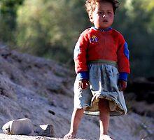 Girl (Afghanistan) by Antanas
