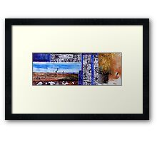 Journal Scape, 2014. Framed Print