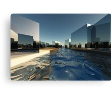 Q-City-Two Canvas Print