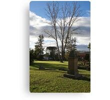 "St Mark""s Cemetery Canvas Print"