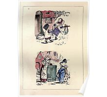 The Little Folks Painting book by George Weatherly and Kate Greenaway 0051 Poster