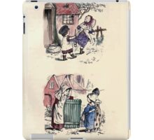 The Little Folks Painting book by George Weatherly and Kate Greenaway 0051 iPad Case/Skin