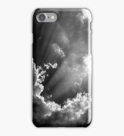 Obscured by clouds iPhone Case/Skin