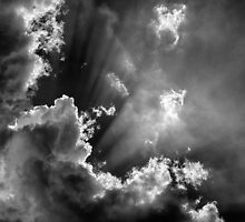 Obscured by clouds by Peter Gray