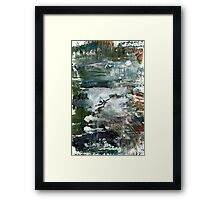 Greatness with Simplicity Framed Print