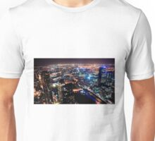 Melbourne night Unisex T-Shirt