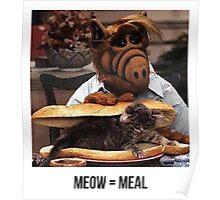 Alf Meow Poster
