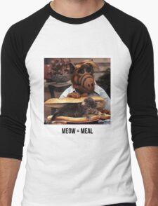 Alf Meow Men's Baseball ¾ T-Shirt
