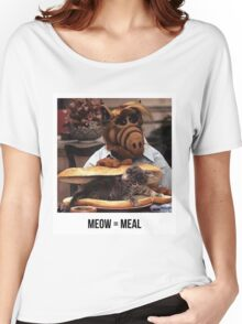Alf Meow Women's Relaxed Fit T-Shirt