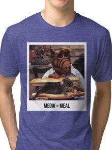 Alf Meow Tri-blend T-Shirt