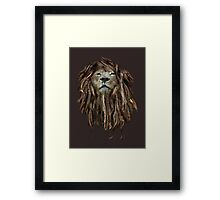 Lion Of Judah Framed Print