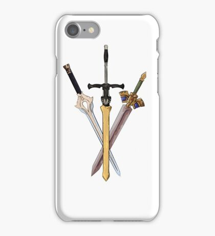 Fire Emblem - Legendary Swords iPhone Case/Skin