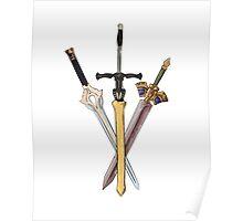 Fire Emblem - Legendary Swords Poster