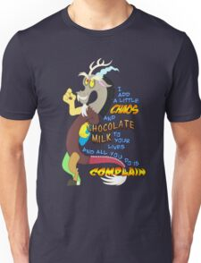 Add A Little Chaos Unisex T-Shirt