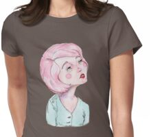 Candy coloured musing Womens Fitted T-Shirt