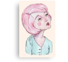 Candy coloured musing Canvas Print