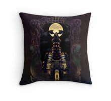 Magus Castle Throw Pillow