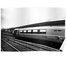 April Train Rides Poster
