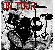 Rock-n-Roll Drums Photographic Print