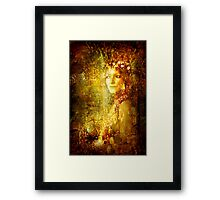 Refined As Gold Framed Print