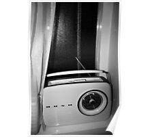 retro bush radio Poster