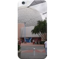 Spaceship Earth from a new perspective iPhone Case/Skin
