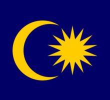 Malaysian American Multinational Patriot Flag Series Sticker