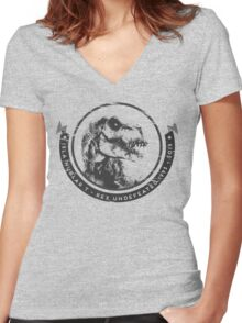Reigning Champion  Women's Fitted V-Neck T-Shirt