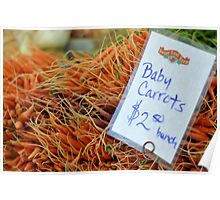 Baby Carrots Poster