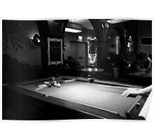 Big Break - Pool in Robbins Well, Leamington Spa Poster