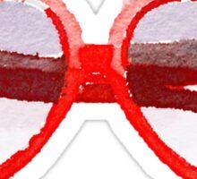 Lolita Heart-Shaped Sunglasses in Watercolor Sticker