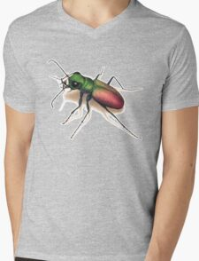 Beetle Mens V-Neck T-Shirt