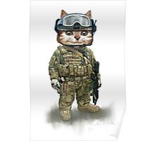 cat the spec ops Poster