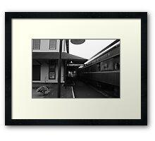 Cooperstown Station Framed Print