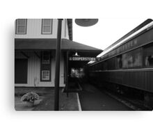 Cooperstown Station Canvas Print