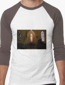 Stained Glass, St Pauls  Men's Baseball ¾ T-Shirt