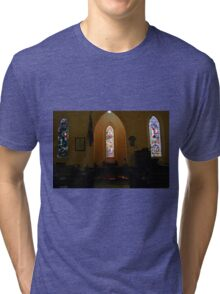 Stained Glass, St Pauls  Tri-blend T-Shirt