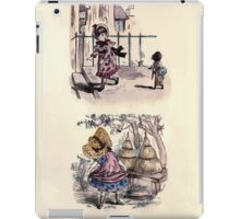 The Little Folks Painting book by George Weatherly and Kate Greenaway 0087 iPad Case/Skin