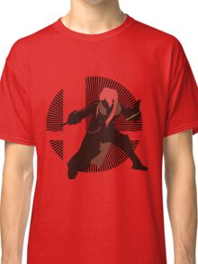 Robin (Female, Red, Down Throw) - Sunset Shores Classic T-Shirt