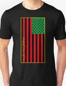 US Flag Juneteenth Unisex T-Shirt