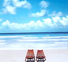 Two Chairs - Mexico by Caitlin Connors