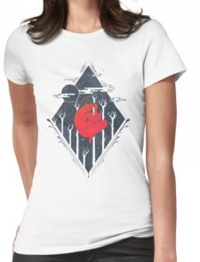 Cosmic Trance  Womens Fitted T-Shirt
