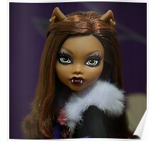 Signature - Clawdeen Wolf Poster