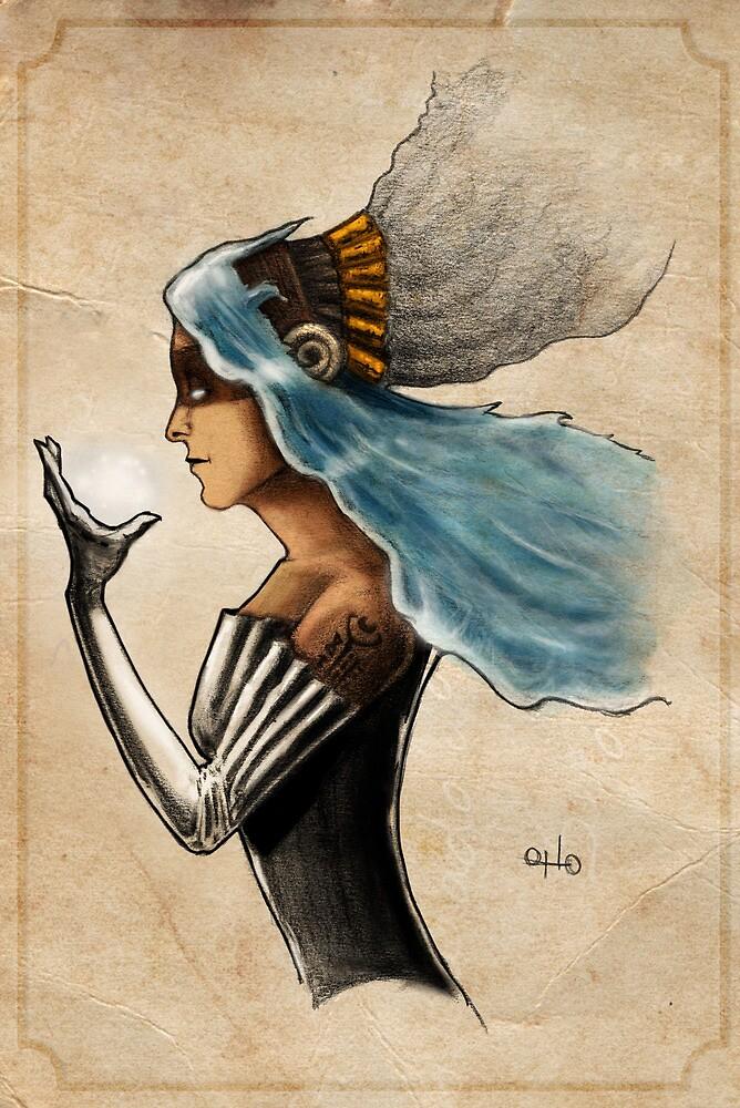 The Goddess of Men by OttoRobba